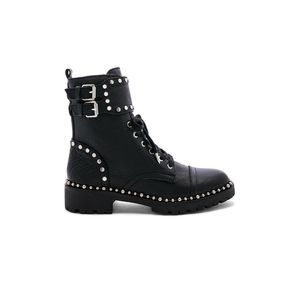 Sam Edelman Jennifer Boot Combat Leather Studded